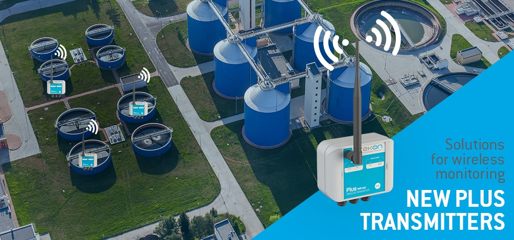 New PLUS transmitters