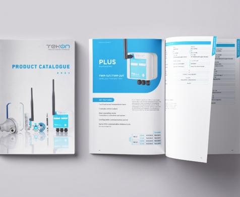 Novo Catálogo de Produtos Tekon Electronics