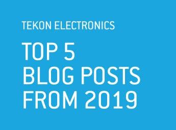 E-Book Tekon  - TOP5 Blog Posts 2019