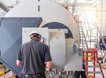 Industrial drum - Temperature monitoring