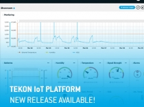 New features available on the Tekon IoT Platform