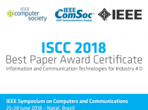 New Wireless Gateway for Industrial IoT received Best Paper Award
