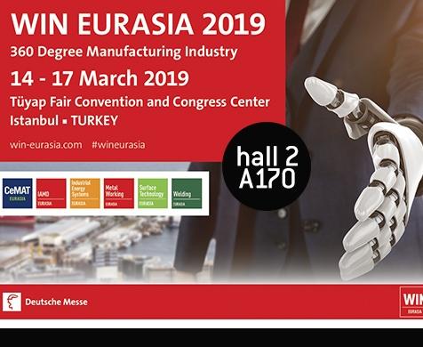 Tekon Electronics will be present at WIN EURASIA 2019