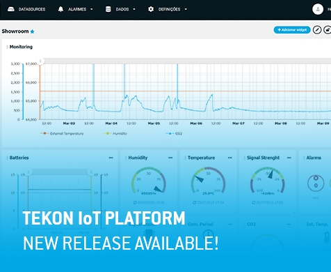 Tekon IoT Platform - new update available