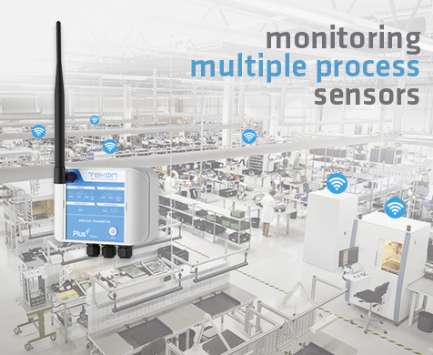 Monitoring multiple process sensors