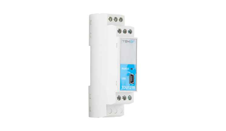 TDU1219 - Isolated Universal Temperature DIN RAIL Transmitter with 4..20 MA output